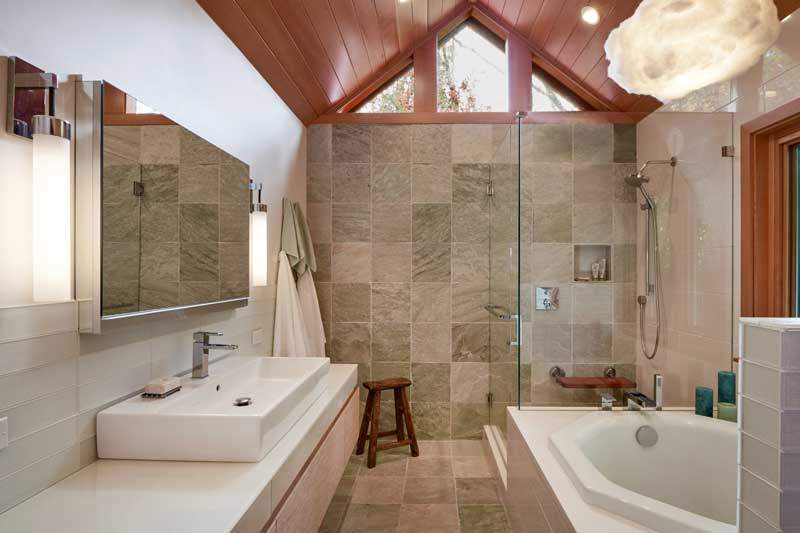 Bathroom designed by Vawn Greany