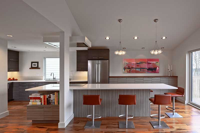 Beacon Hill kitchen designed by Vawn Greany