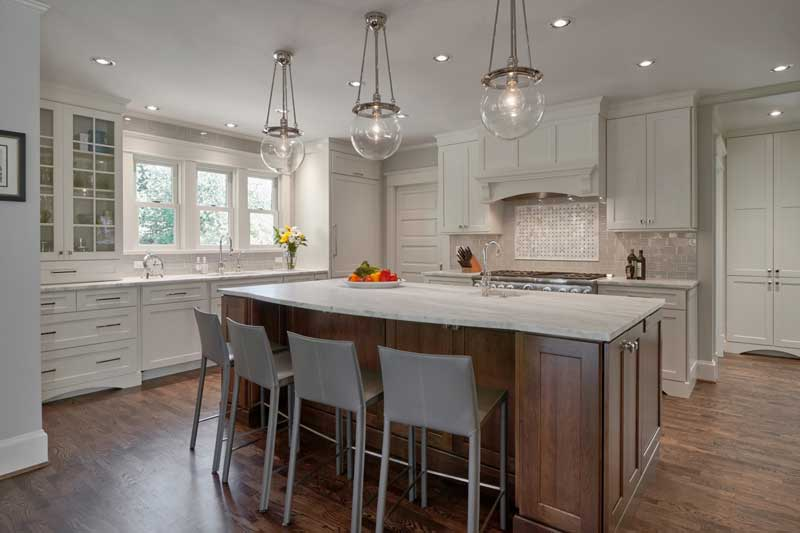 Traditional kitchen designed by Vawn Greany